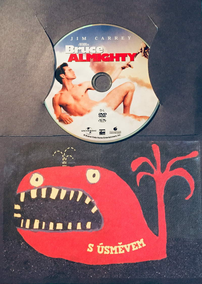 Bruce Almighty / Božský Bruce - DVD /dárkový obal/