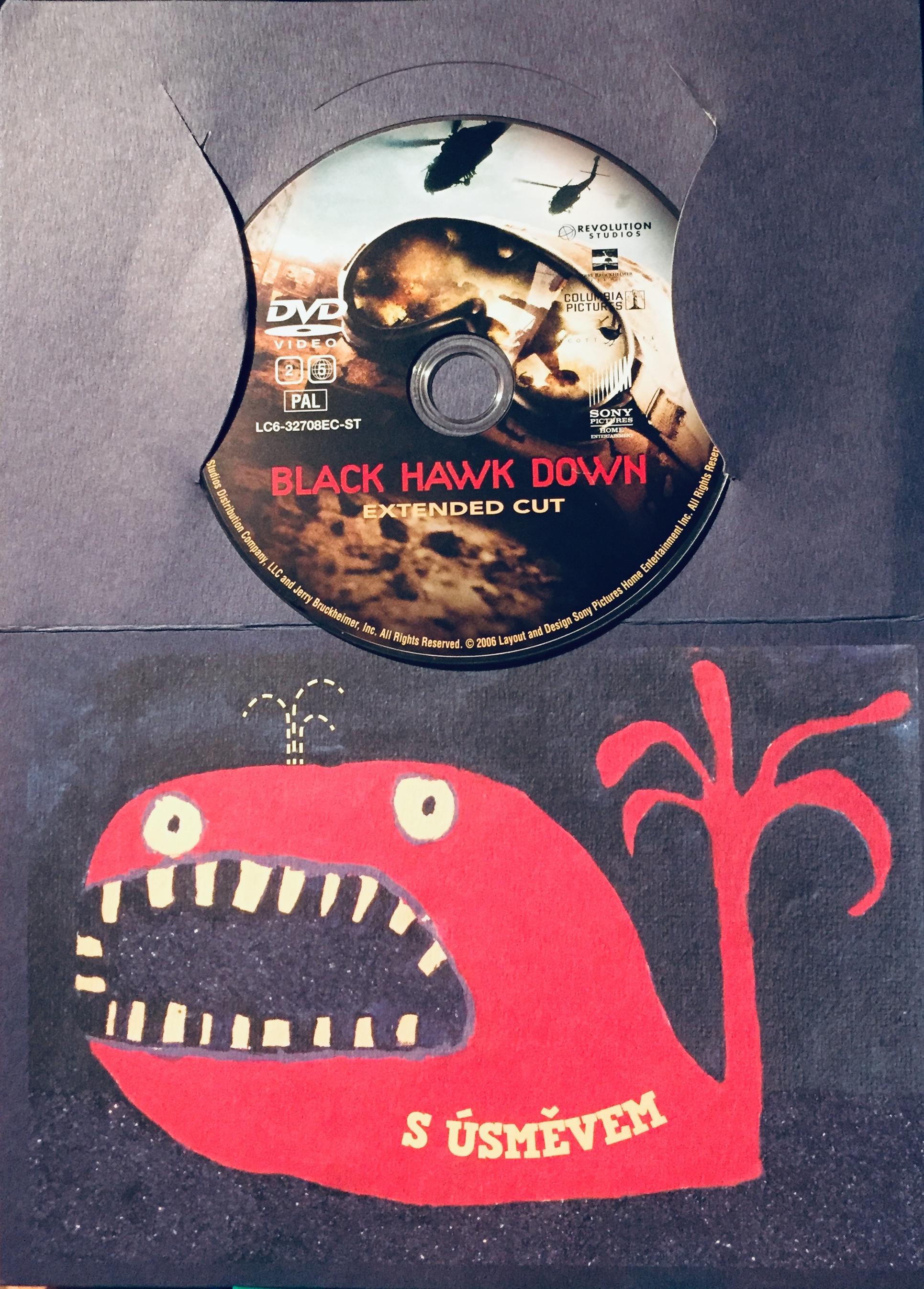 Black Hawk down / Černý jestřáb sestřelen - rozšířená verze - DVD /dárkový obal/