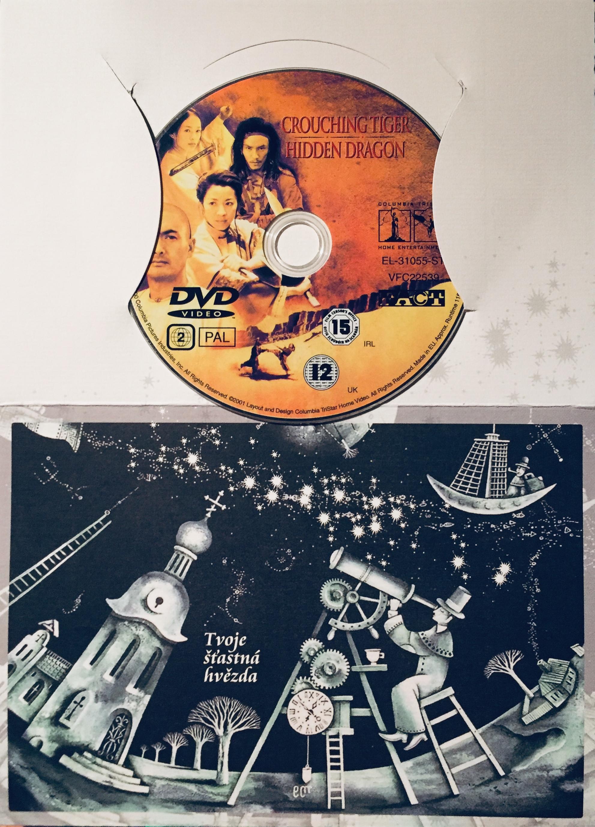 Crouching Tiger - Hidden Dragon / Tygr a drak - Meč osudu - DVD /dárkový obal/
