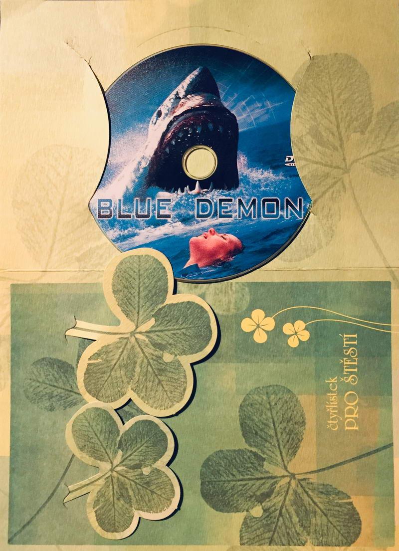 Blue Demon / Modrý démon - DVD /dárkový obal/
