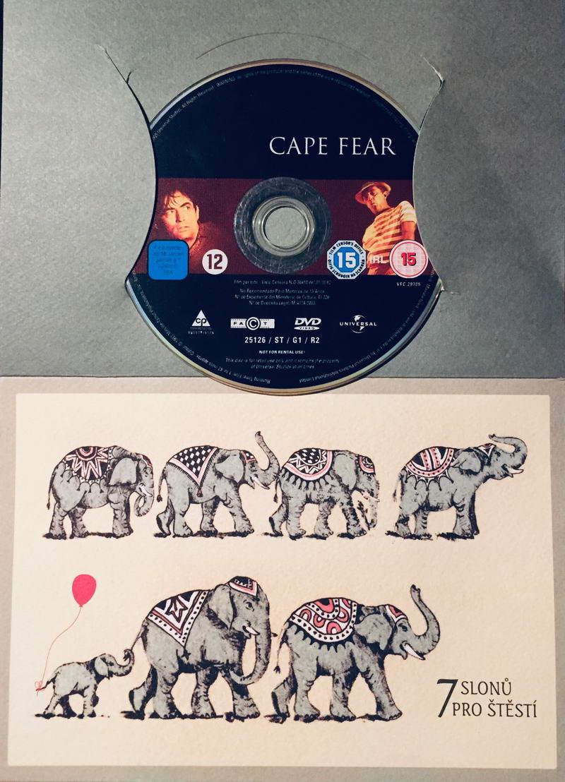 Cape Fear / Mys hrůzy - DVD /dárkový obal/