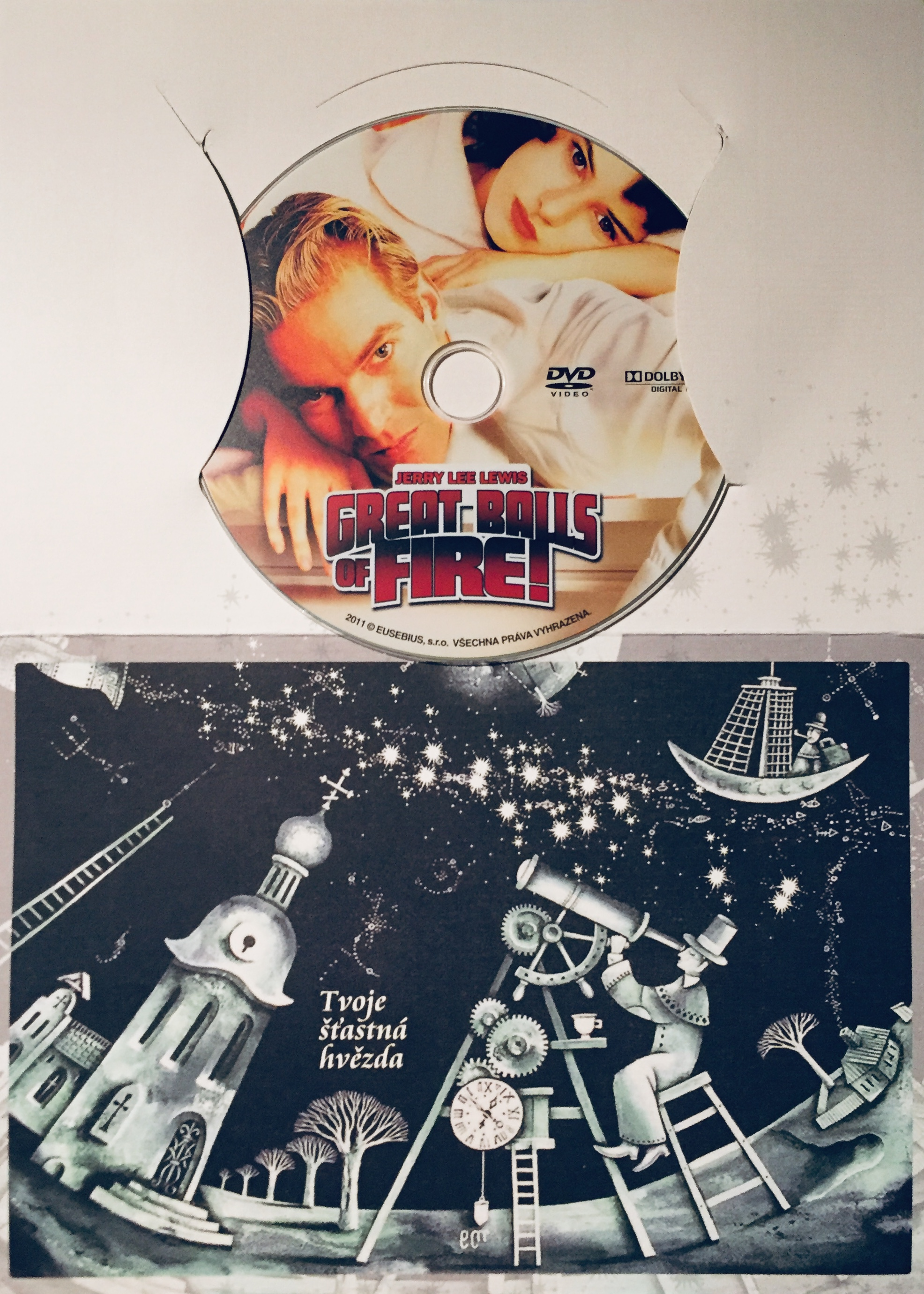 Jerry Lee Lewis - Great Balls of Fire! - DVD /dárkový obal/