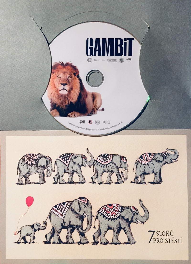 Gambit / Loupež po anglicku - DVD /dárkový obal/