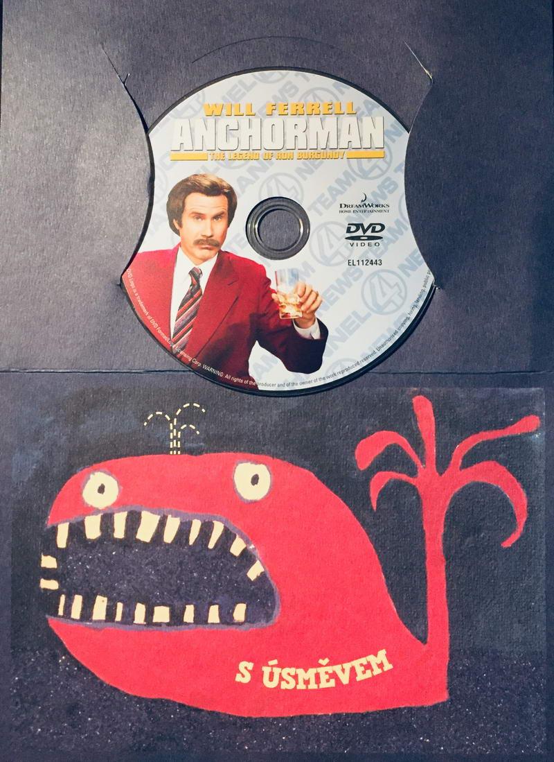 Anchorman / Zprávař - Příběh Rona Burgundyho - DVD /dárkový obal/