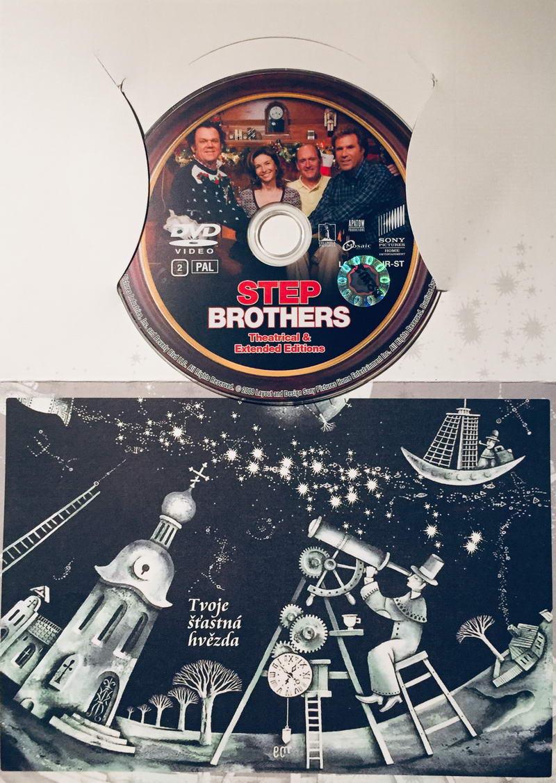 Step Brothers / Bratři z donucení - DVD /dárkový obal/