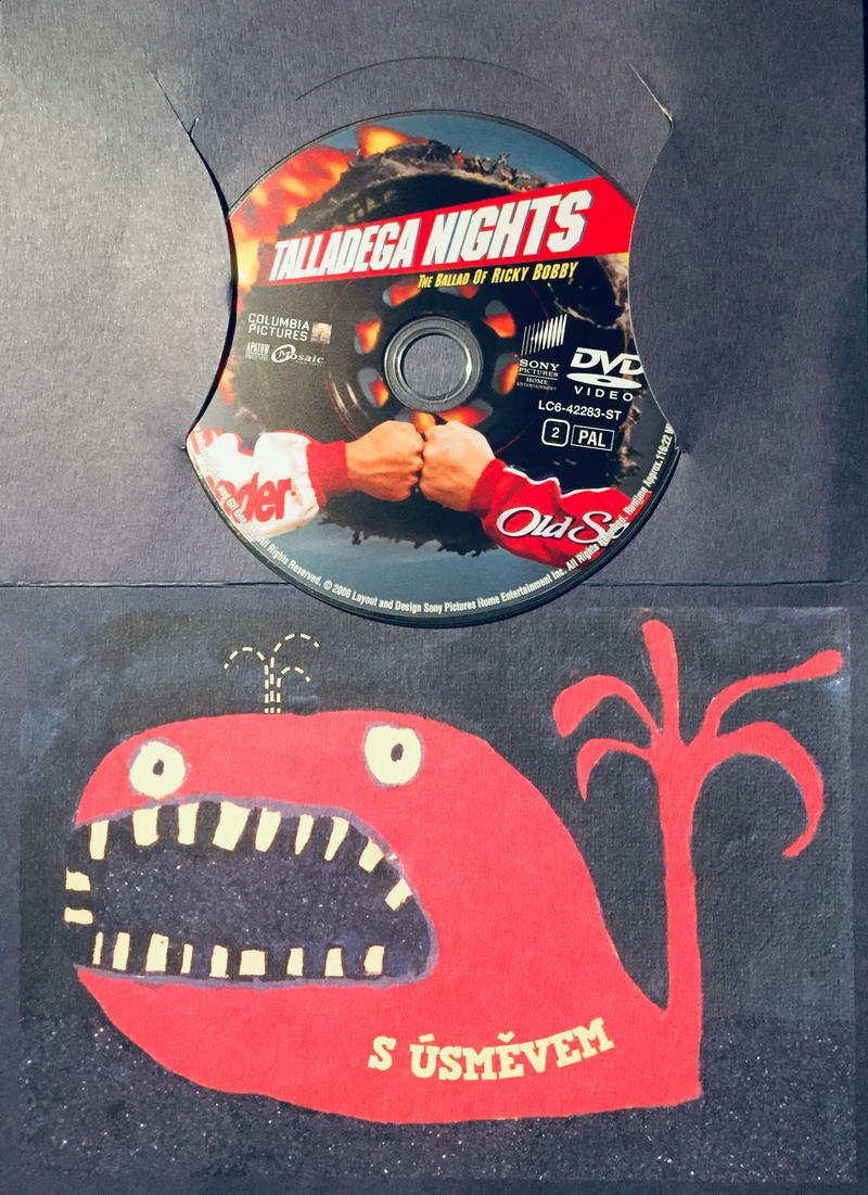 Talladega Nights / Ricky Bobby: Nejrychlejší jezdec - DVD /dárkový obal/