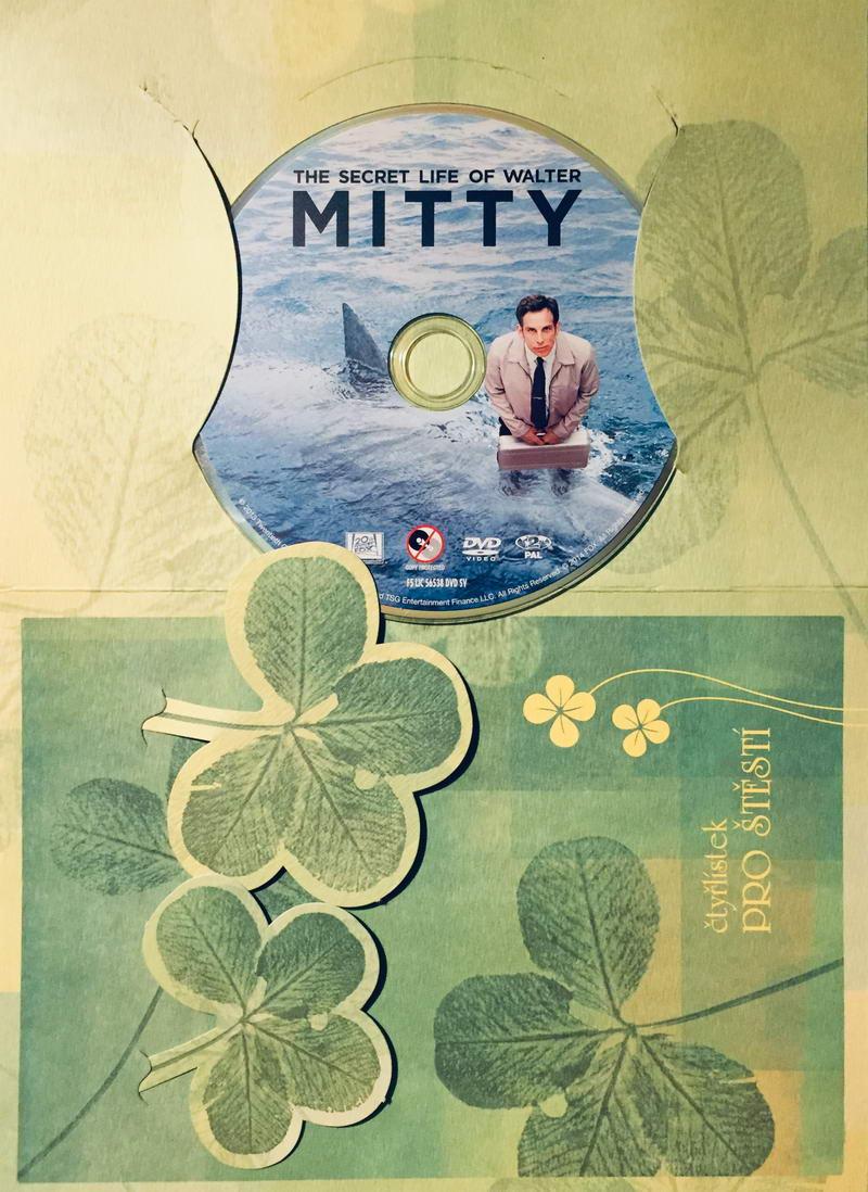 The secret life of Walter Mitty / Walter Mitty a jeho tajný život - DVD /dárkový obal/