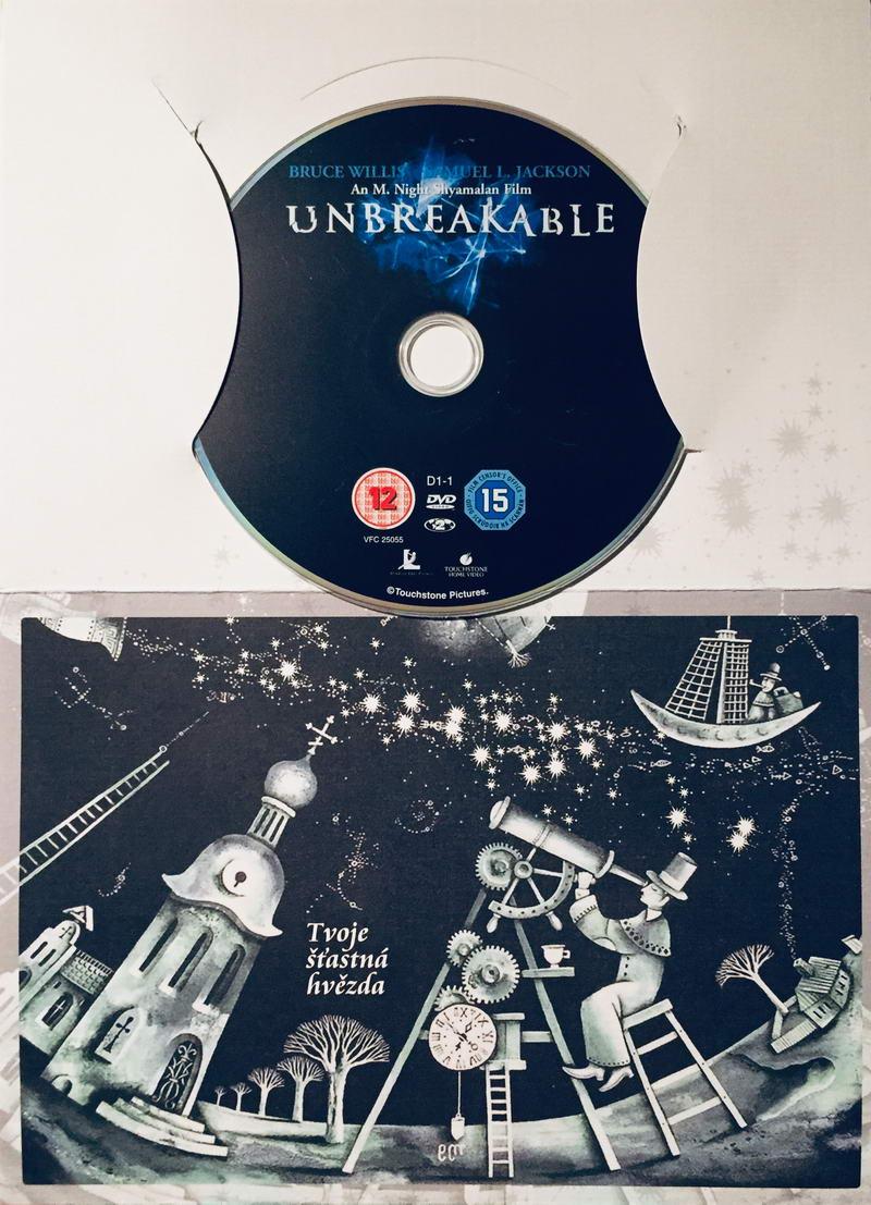 Unbreakable / Vyvolený - DVD /dárkový obal/
