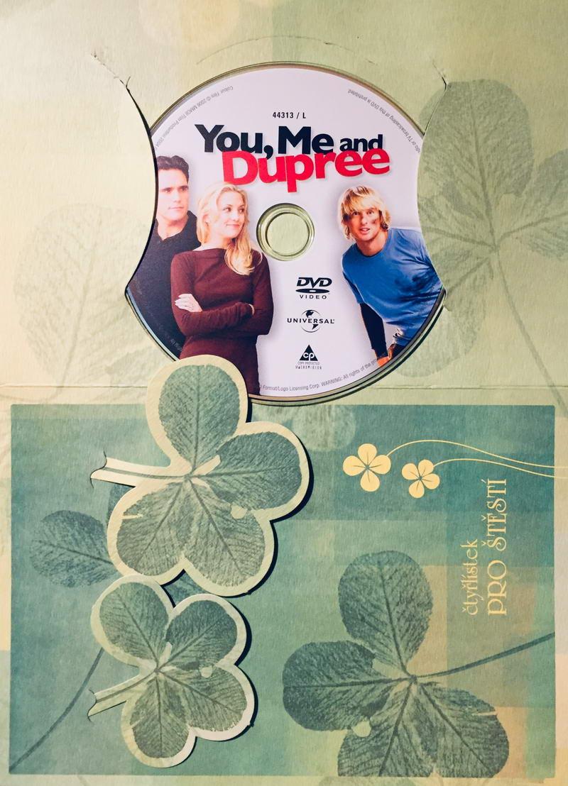 You, Me and Dupree / My dva a křen - DVD /dárkový obal/