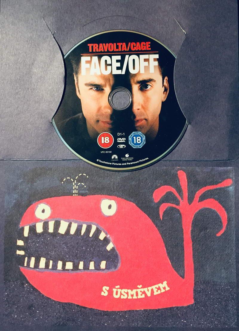 Face/Off / Tváří v tvář - DVD /dárkový obal/