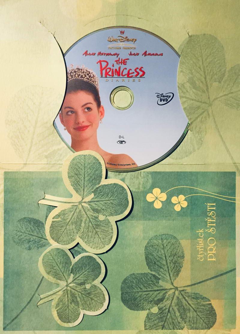 The Princess Diares / Deník princezny - DVD /dárkový obal/