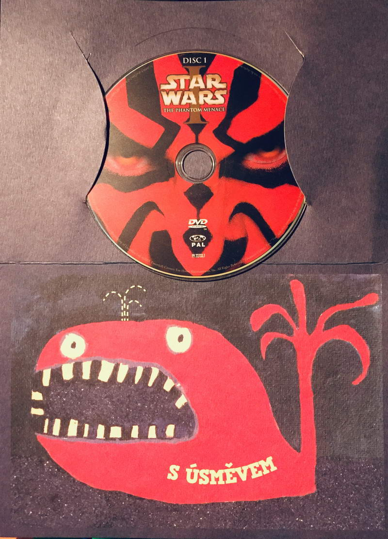 Star Wars - The Phantom Menace / Skrytá hrozba - DVD /dárkový oba/