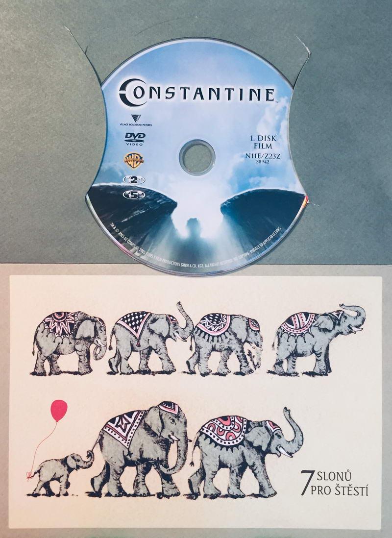 Constantine - DVD /dárkový obal/