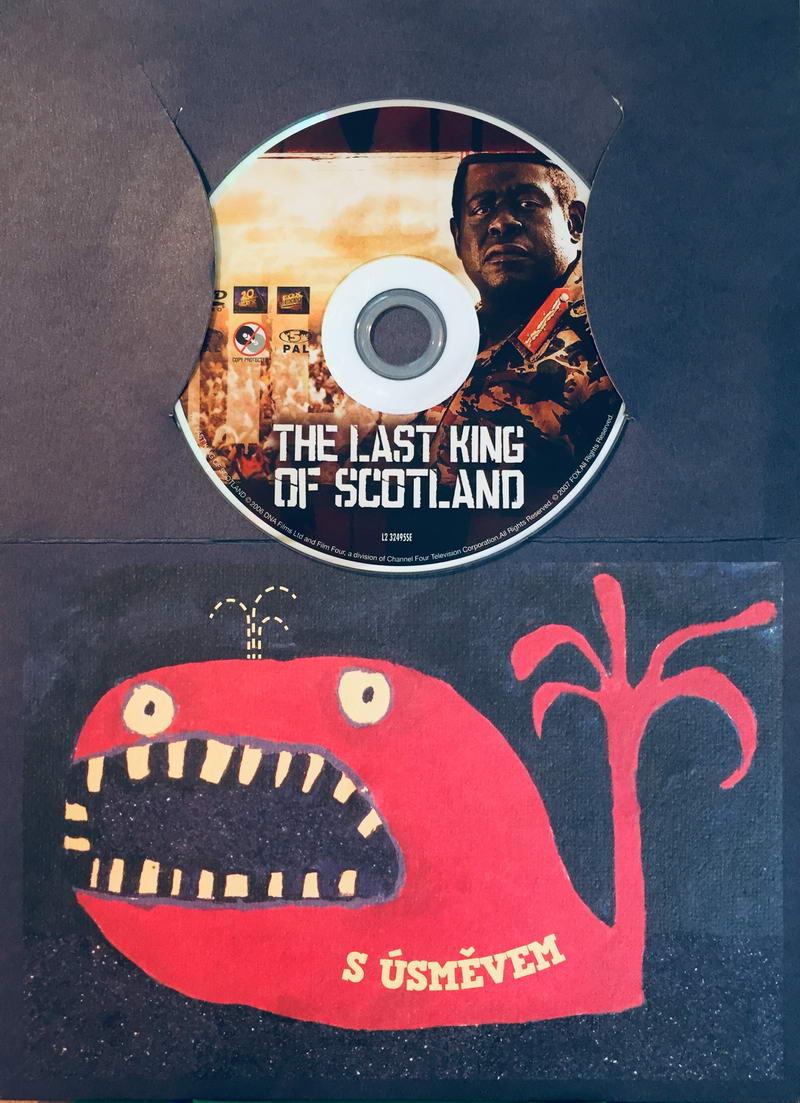The Last King of Scotland / Poslední skotský král - DVD /dárkový obal/