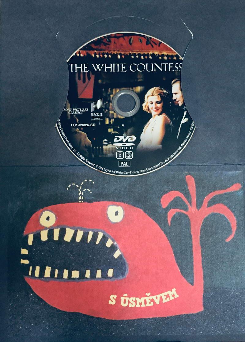The White Countess / Bílá hraběnka - DVD /dárkový obal/