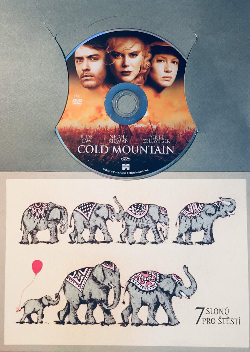 Cold Mountain / Návrat do Cold Mountain - DVD /dárkový obal/