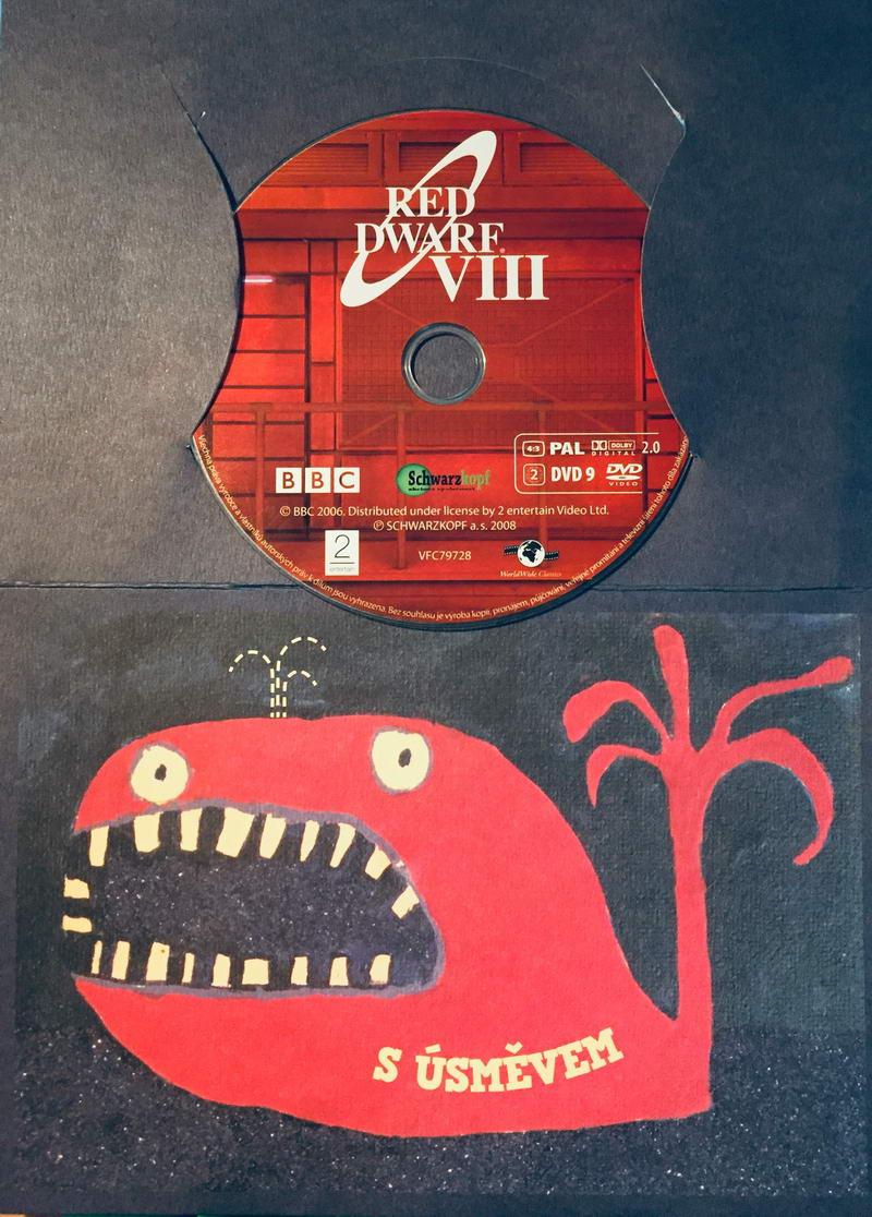 Red Dwarf VIII. / Červený trpaslík VIII. - DVD /dárkový obal/