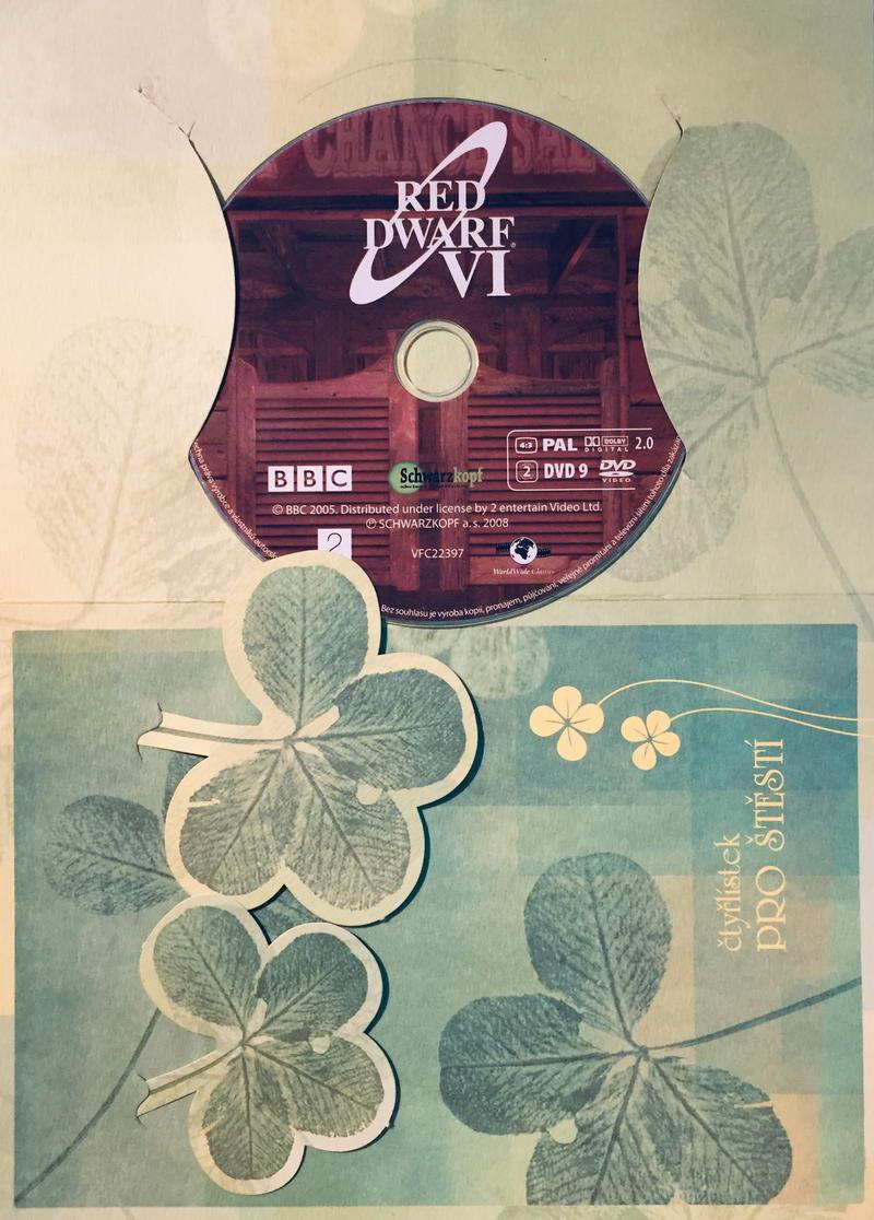 Red Dwarf VI. / Červený trpaslík VI. - DVD /dárkový obal/