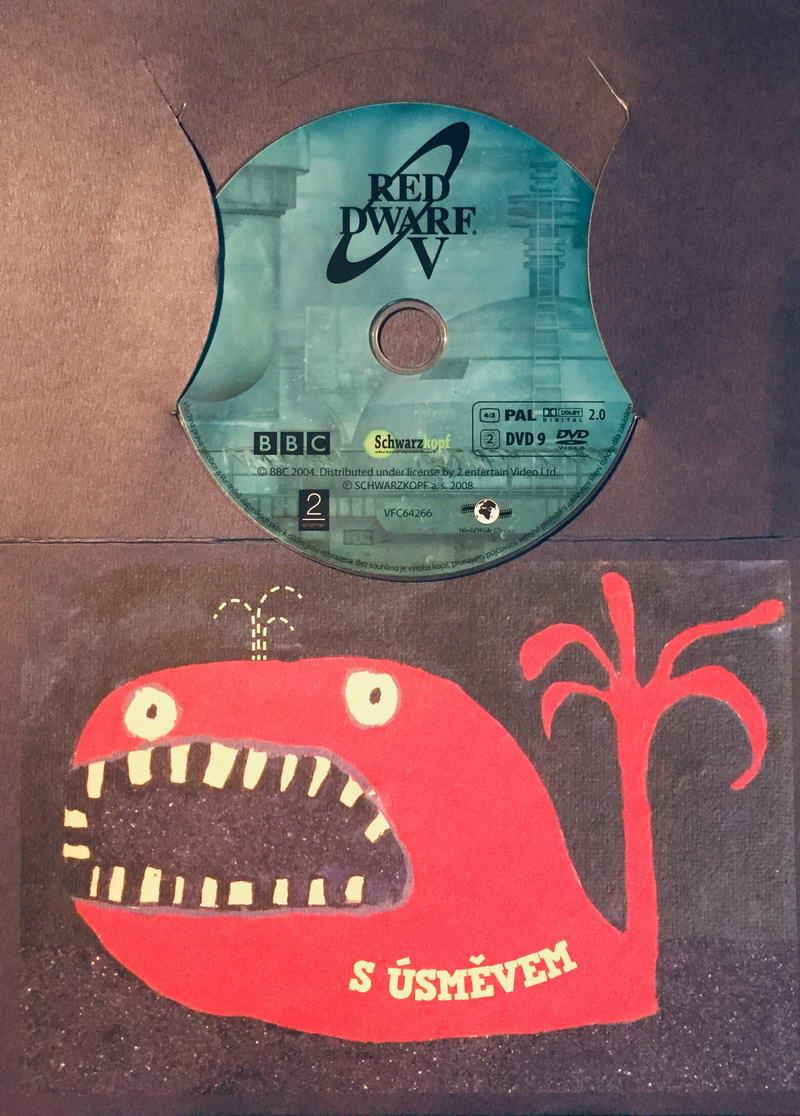 Red Dwarf V. / Červený trpaslík V. - DVD /dárkový obal/