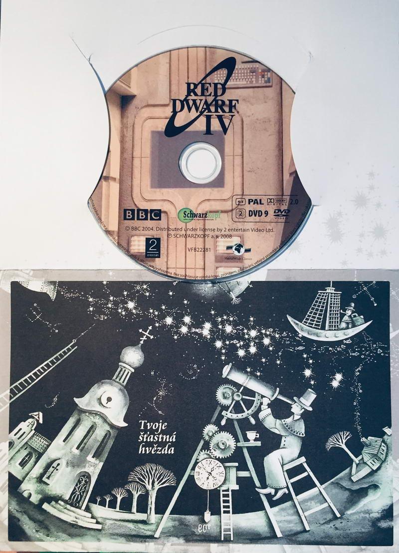 Red Dwarf IV. / Červený trpaslík IV. - DVD /dárkový obal/