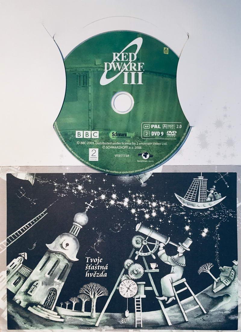 Red Dwarf III. / Červený trpaslík III. - DVD /dárkový obal/