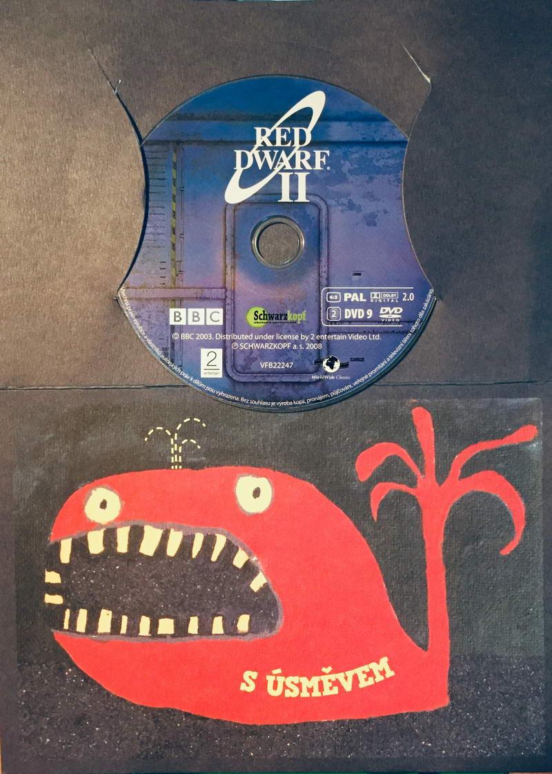 Red Dwarf II. / Červený trpaslík II. - DVD /dárkový obal/
