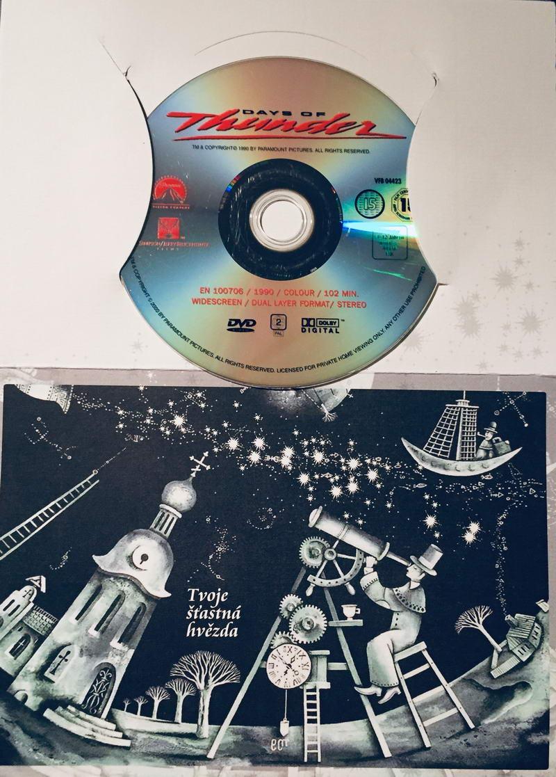 Days of Thunder / Bouřlivé dny - DVD /dárkový obal/