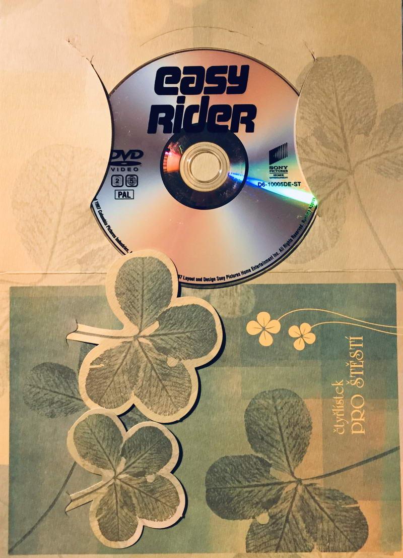 Easy Rider / Bezstarostná jízda - DVD /dárkový obal/