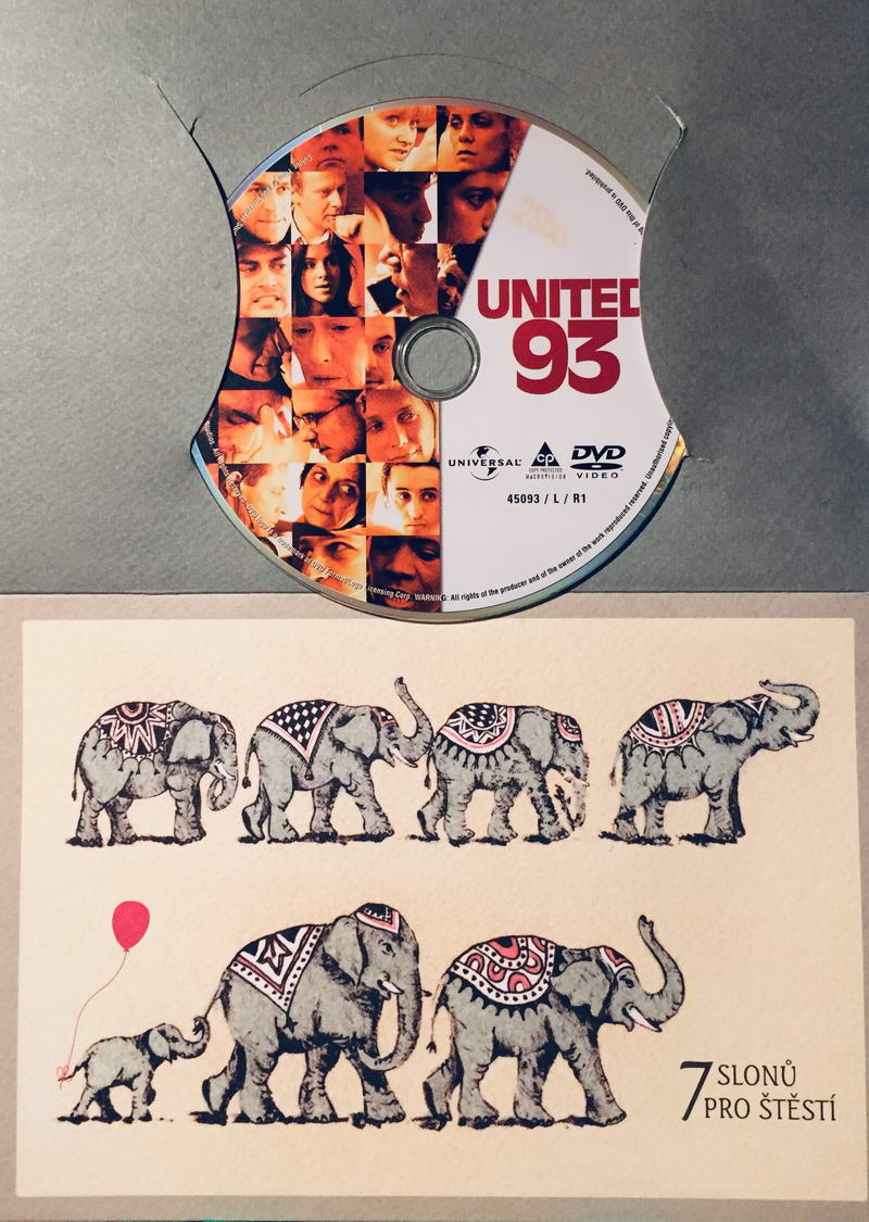 United 93 / Let číslo 93 - DVD /dárkový obal/