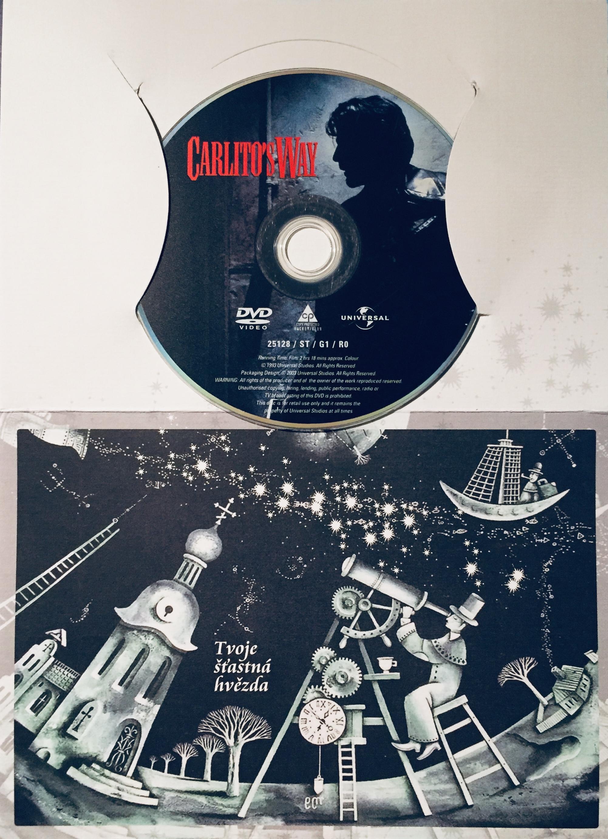 Carlitos Way / Carlitova cesta - DVD /dárkový obal/