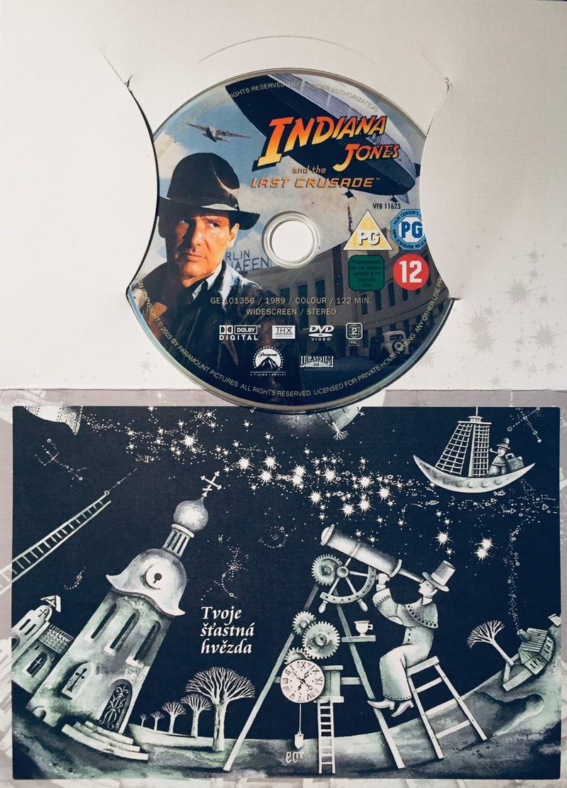 Indiana Jones and the Last Crusade / Indiana Jones a poslední křížová výprava - DVD /dárkový obal/