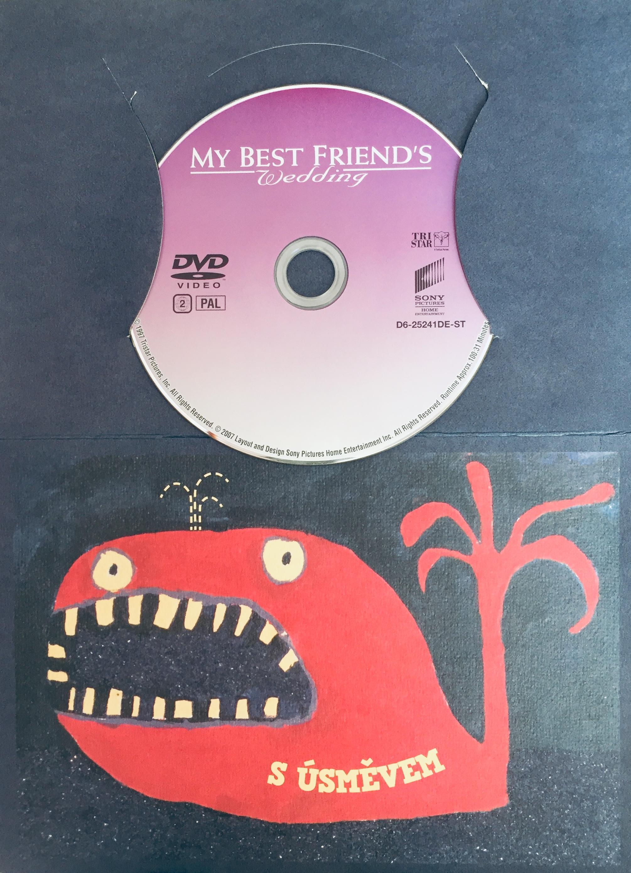 My Best Friend's Wedding / Svatba mého nejlepšího přítele - DVD /dárkový obal/