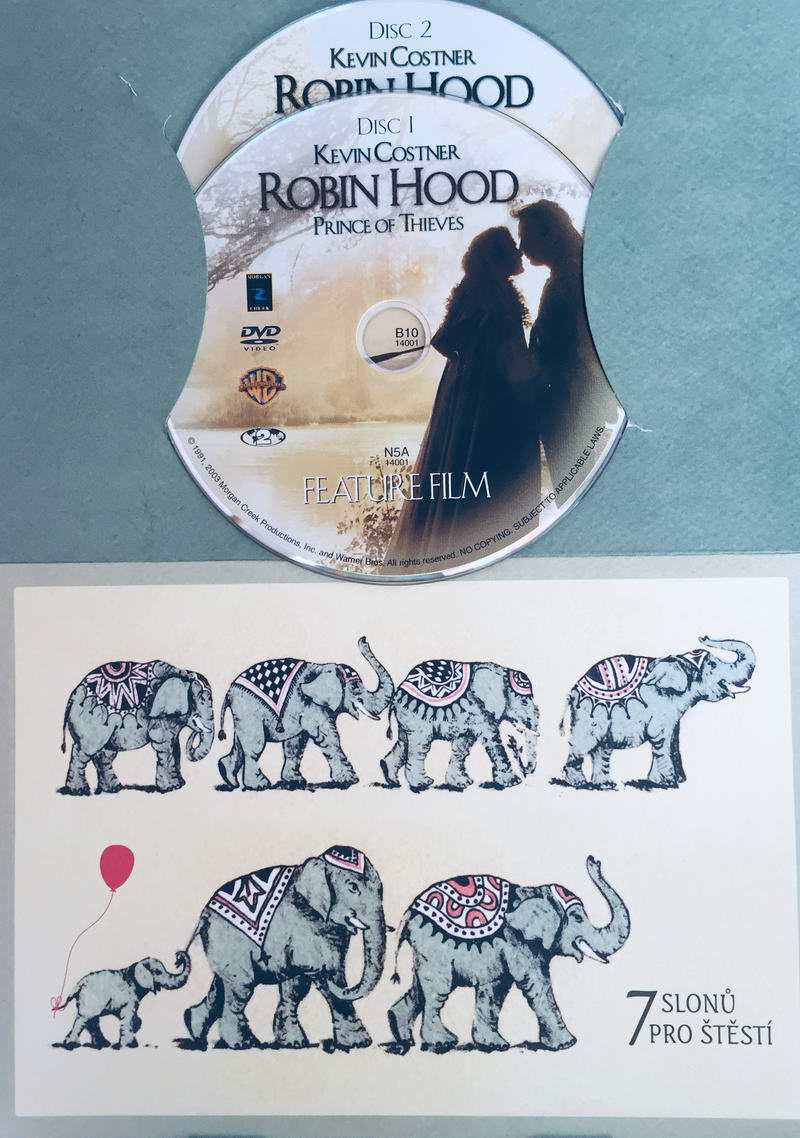 Robin Hood: Prince of Thieves - Robin Hood: Král zbojníků - DVD /dárkový obal/