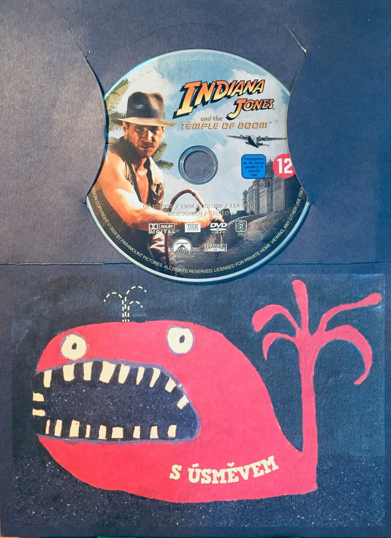 Indiana Jones and the Temple of Doom / Indiana Jones a Chrám zkázy - DVD /dárkový obal/