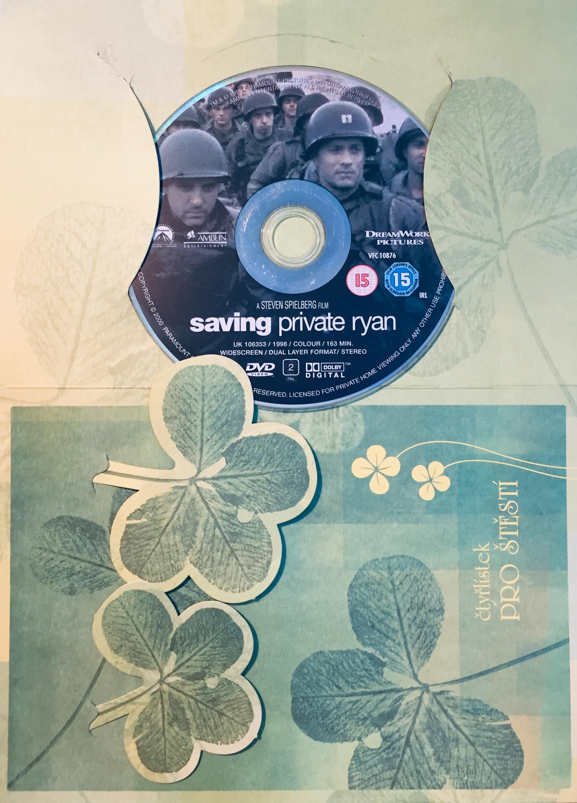 Saving Private Ryan / Zachraňta vojína Ryana - DVD /dárkový obal/