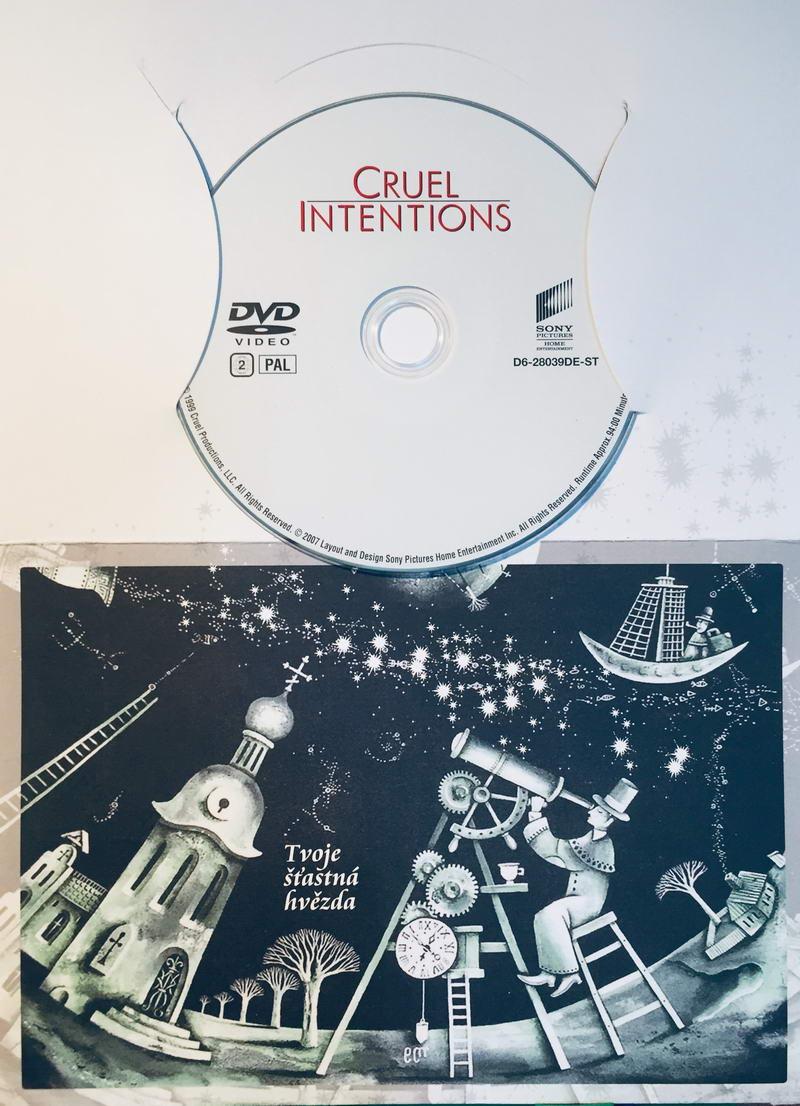 Cruel Intentions / Velmi nebezpečné známosti - DVD /dárkový obal/