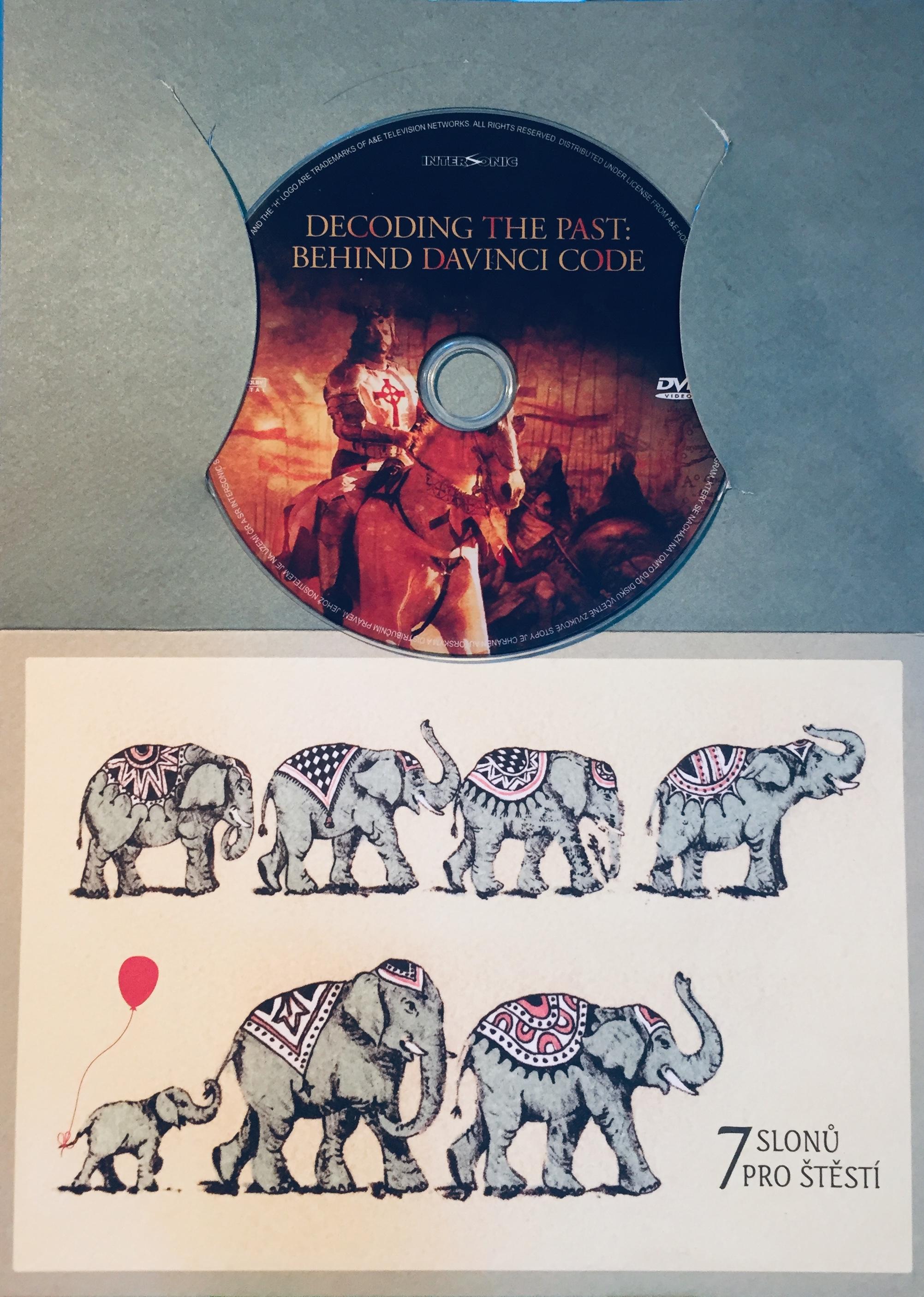 Decoding the Past: Behind da Vinci Code / Da Vinciho kód - Pravda nebo lež - DVD /dárkový obal/