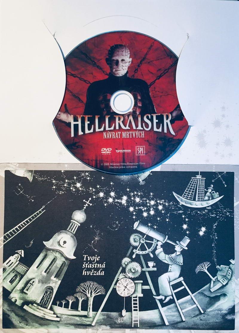 Hellraiser - DVD /dárkový obal/