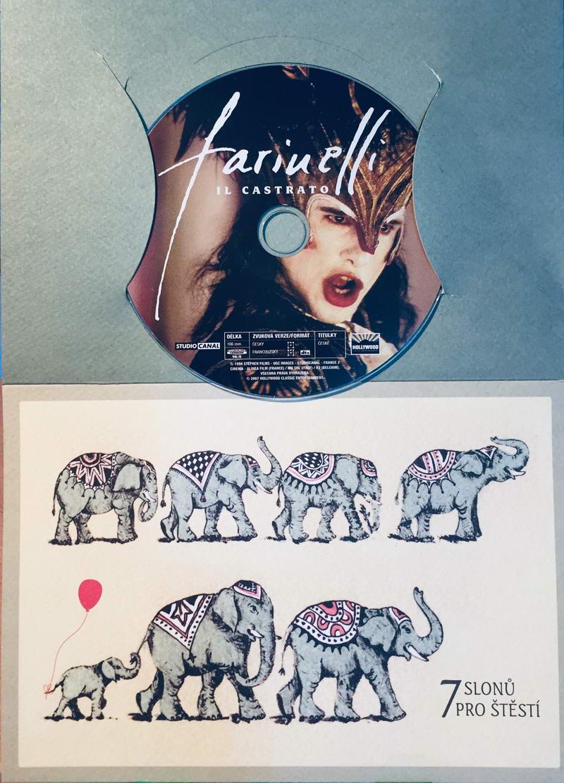 Farinelli - Il Castrato - DVD /dárkový obal/