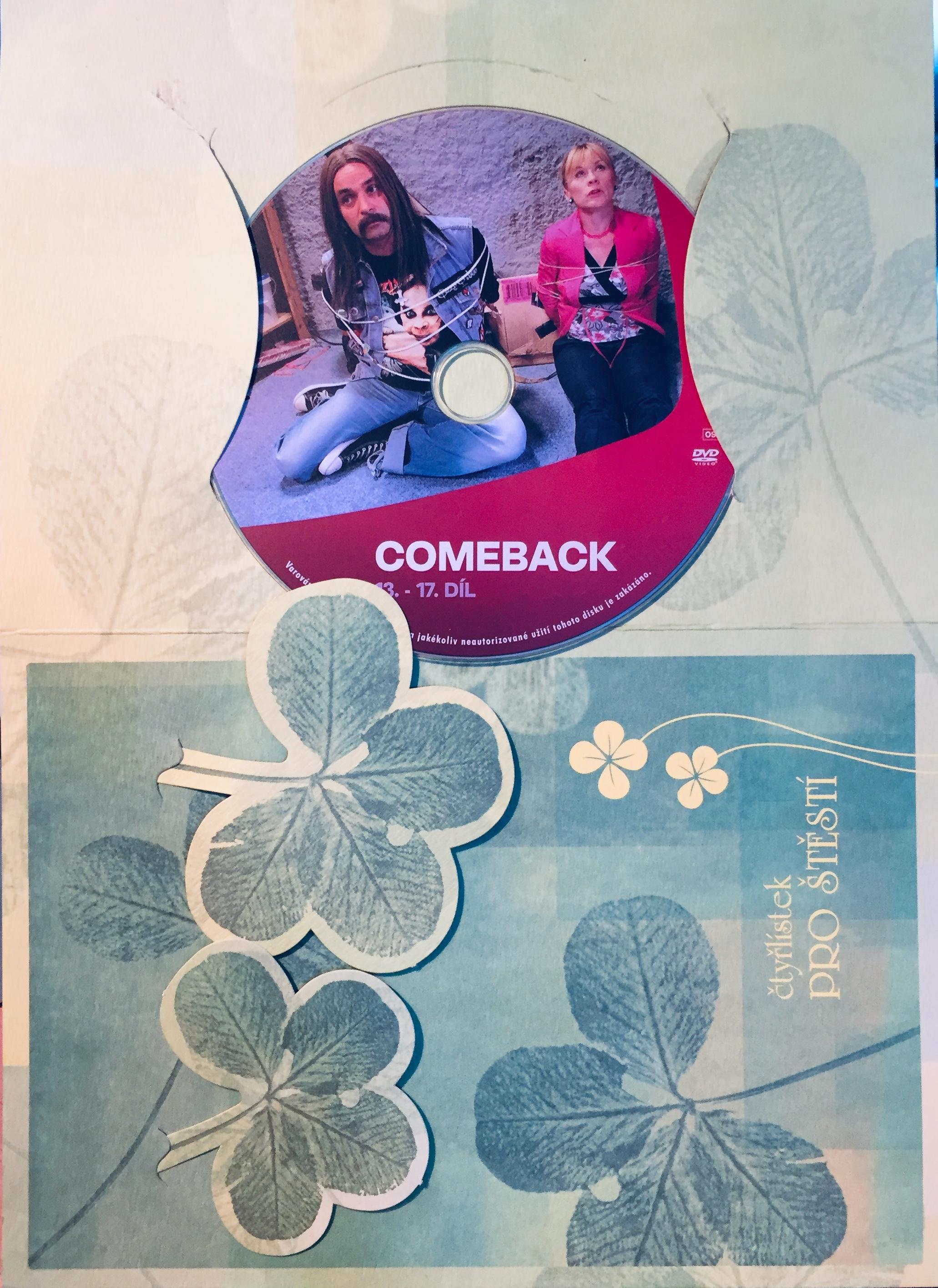 Comeback - 13-17. díl - DVD /dárkový obal/