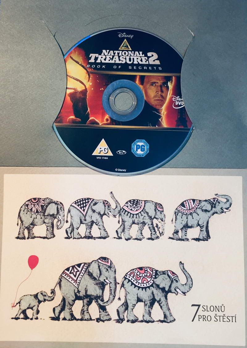 National Treasure 2 / Lovci pokladů - Kniha tajemství - DVD /dárkový obal/