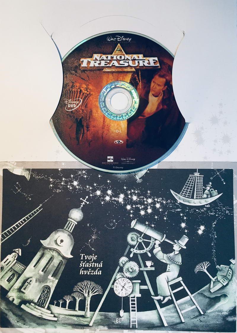 National Treasure / Lovci pokladů - DVD /dárkový obal/