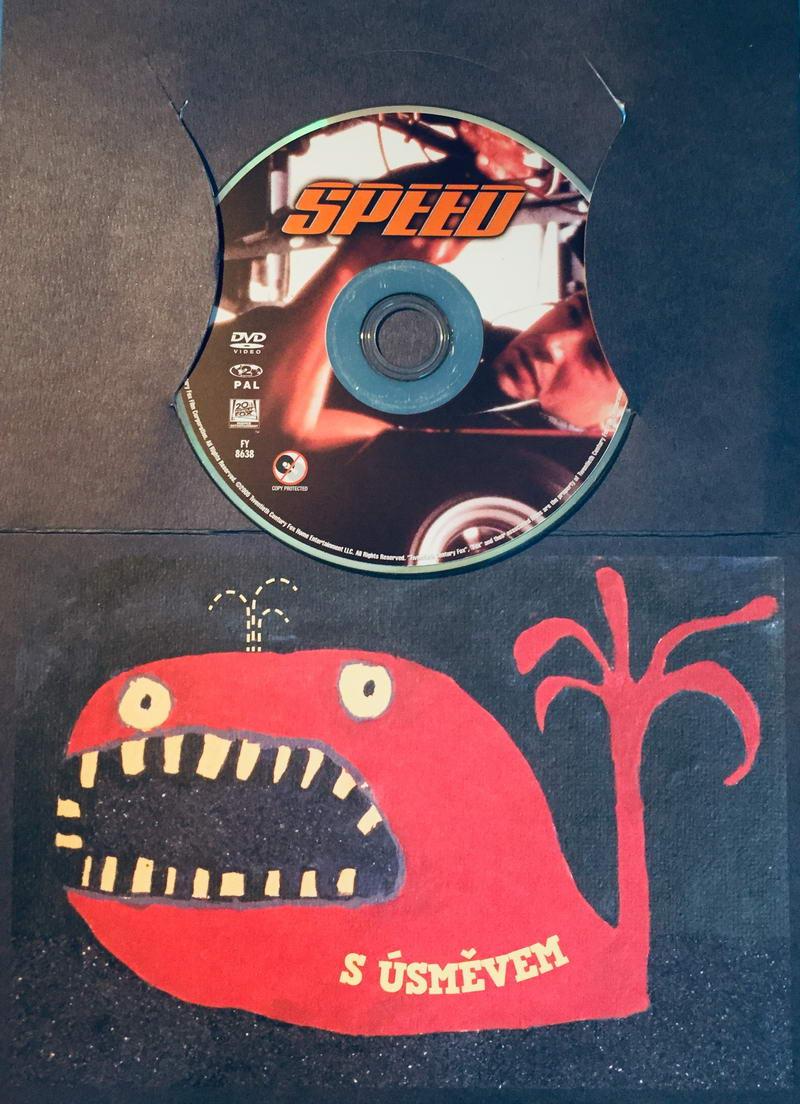 Speed / Nebezpečná rychlost - DVD /dárkový obal/