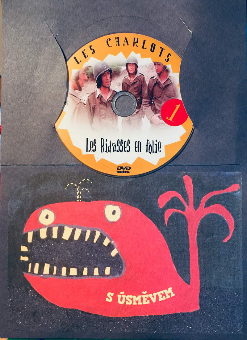 Les Charlots 1 - Les Bidasses en Folie / Bažanti - DVD /dárkový obal/