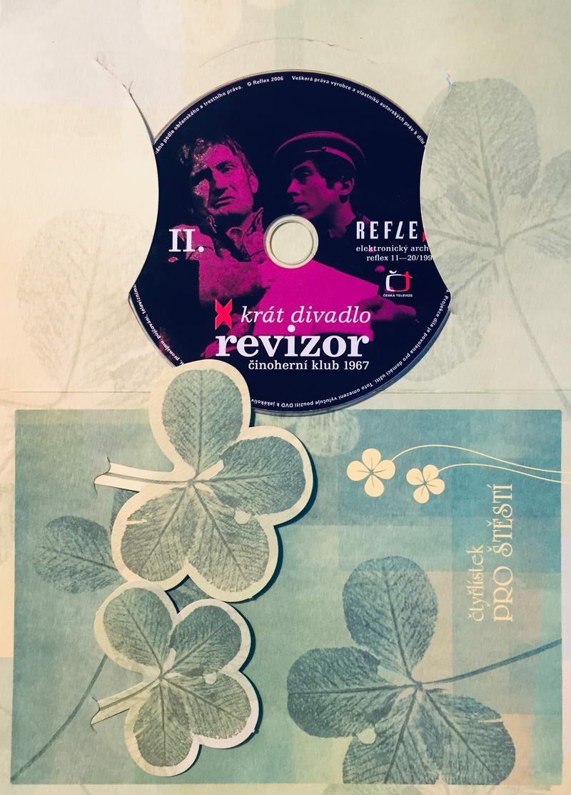 Revizor - x krát divadlo - DVD /dárkový obal/
