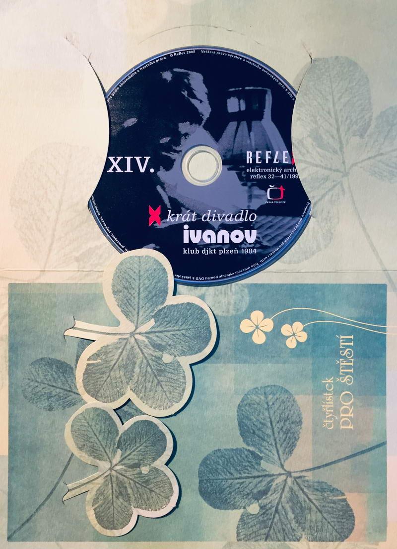 Ivanov - x krát divadlo - DVD /dárkový obal/