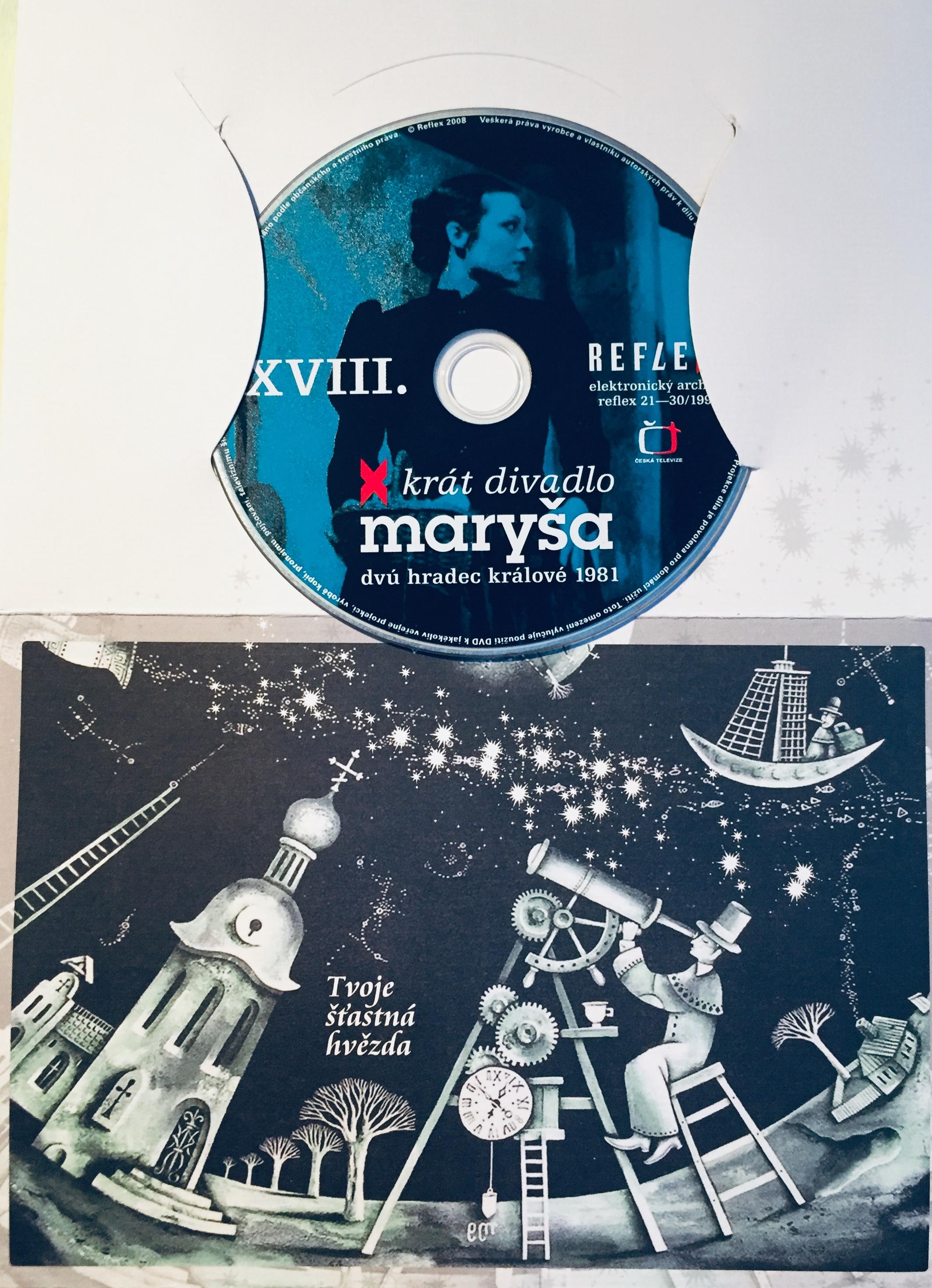 Maryša - x krát divadlo - DVD /dárkový obal/