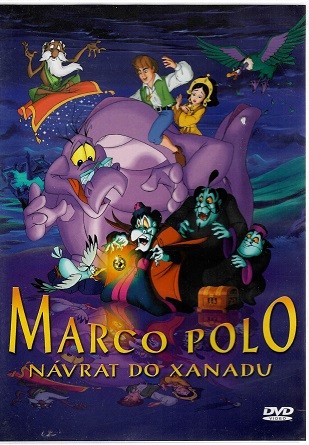 Marco polo: Návrat do Xanadu ( plast ) DVD