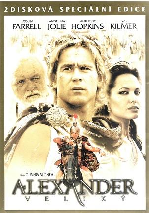 Alexander veliký 2. disková edice ( plast ) DVD