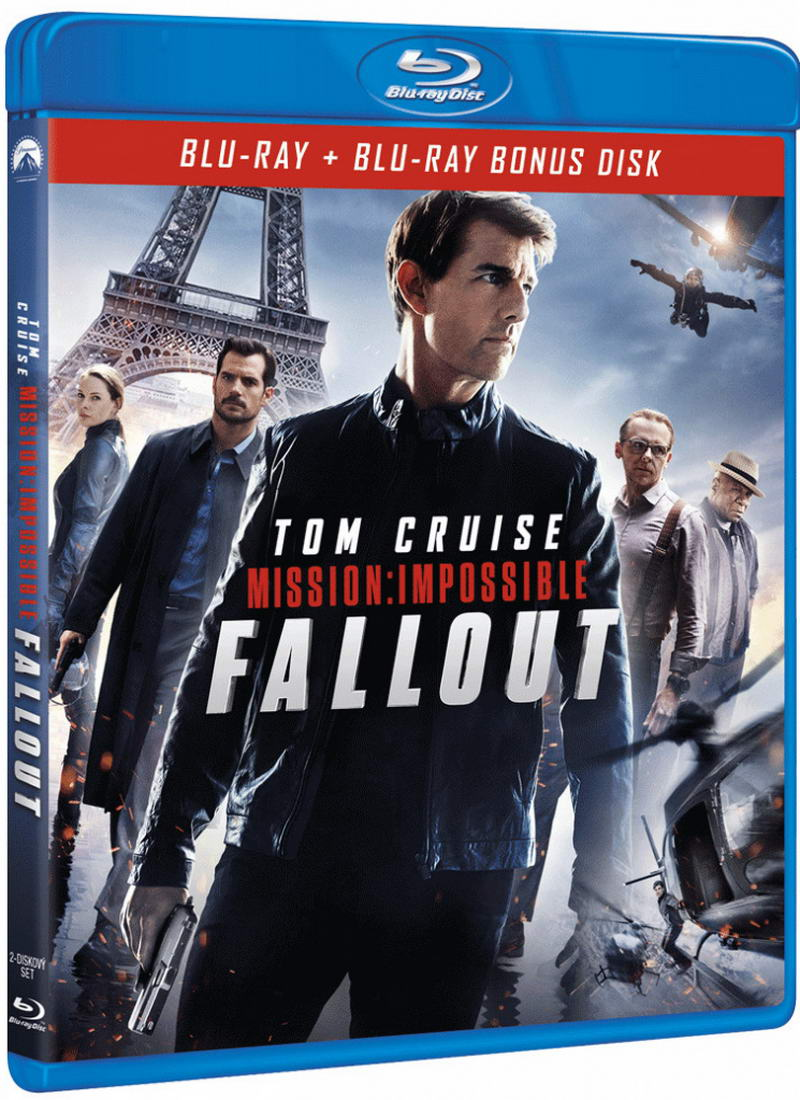 Mission: Impossible - Fallout (2Blu-ray BD+bonus disk)